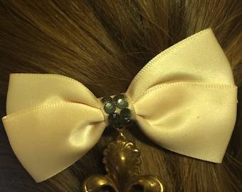 Steampunk Bow with Charm Cute