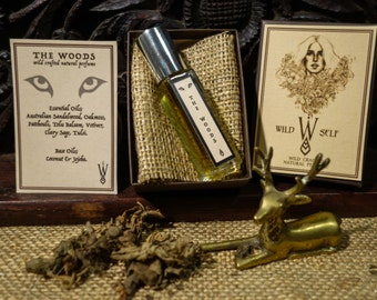 The Woods {9ml Roll on} ~ Natural Perfume Oil
