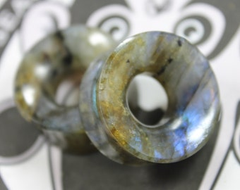 Labradorite Thick Walled Tunnels