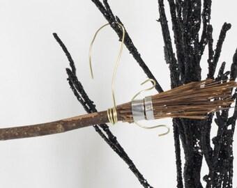 Broomstick Ornament