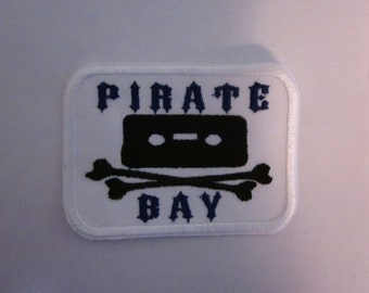 Pirate bay Iron or Sew On Patch