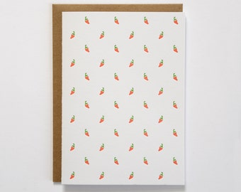 Chili Pepper Letterpress Card
