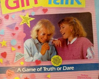 Girl Talk Vintage 1988 edition.