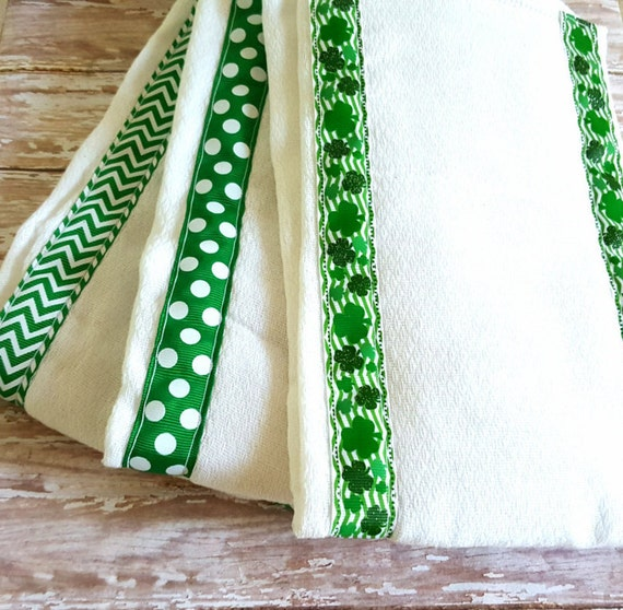 Neutral Baby Gifts Ireland : Set of three burp cloths rags irish baby gift