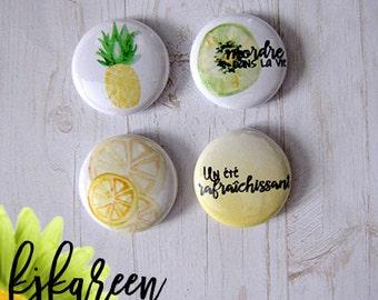"Badge 1 ""- fruit"