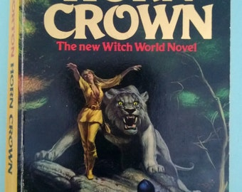 Horn Crown by Andre Norton Witch World 1981 Paperback Free Shipping