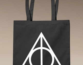 Deathly Hallows - Tote Bag