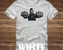 MR T T-Shirt - funny ba baracus tshirt a team gmc van pity the fool- many colors - adult sizes - 496