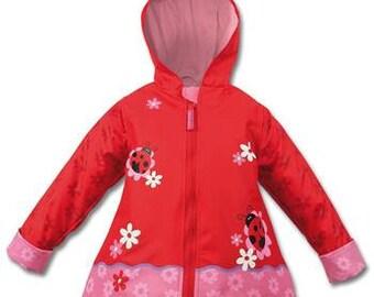 Ladybug Raincoat