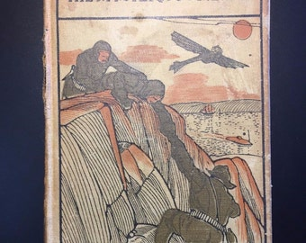 The Mysterious Island by Jules Verne, A. L. Burt, Scarce Cover, c1917