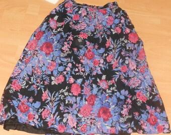 Vintage high waisted skirt UK S/M