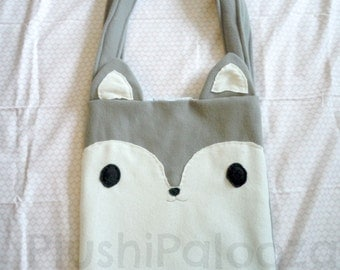 Wolf Tote Bag |Gift for her | Tote | Soft |