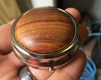 Small Pill box or Compact Mirror