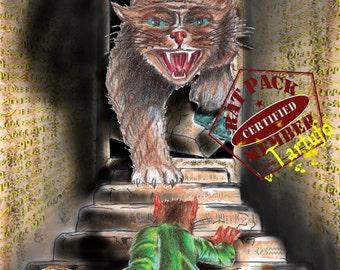 """Rat Pack 02:  """"Tartufo"""" the Treasure Hunter PRINT"""