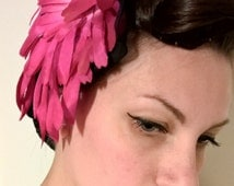 Sale! -40% Vintage 1950 's fascinator coming from an old italian millinery