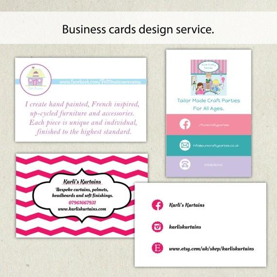Business card design service business card template