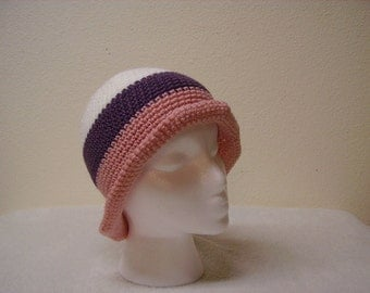 Striped Crochet Hats