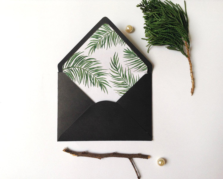 Diy envelope liner – Envelope Liner Template