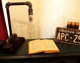 Modern Industrial Style Desk Lamp