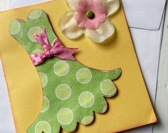 Summer Dress Card