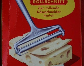 Vintage Westmark Rollschnitt rolling cheese slicer 1960's made in Germany