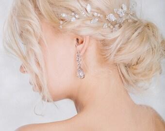 Bridal Headpiece, Wedding Hair Vine, Wedding Hair Accessories, Wedding  Wreath, Bridal Hairpiece, Crystal Hairpiece, Wedding Headpiece