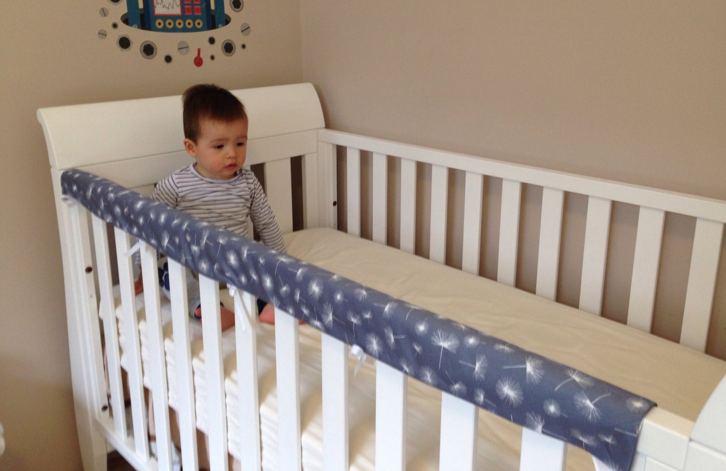 Cot Or Crib Rail Teething Cover