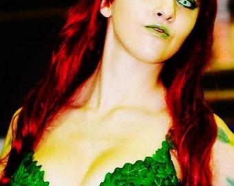 Poison Ivy Cosplay Bra
