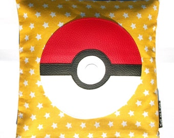 Hot water bottle dry to flax seeds - natural - PokéMon