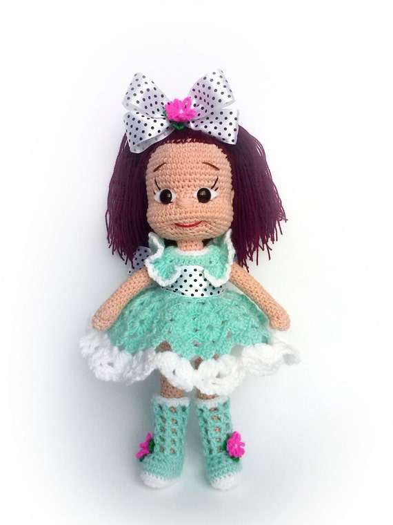 Amigurumi Doll Hands : Amigurumi crochet doll Hand doll OOAK Decor doll Art doll Home