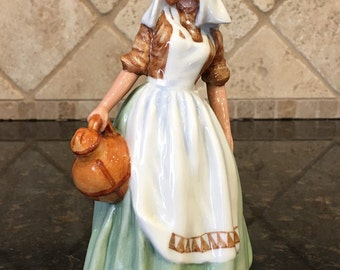 Royal Doulton Figurine The MilkMaid HN 2057 ~ 1949 ~ FIRST EDITION ~ made in England