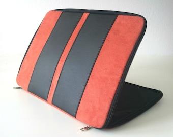 Macbook air 11 case,New Macbook 12 inch,Macbook zipper case,zipper case,zipper sleeve,laptop case,laptop cover,leather case,suede,mac book