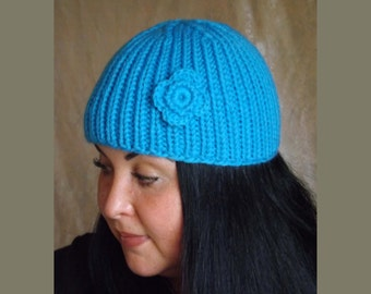 Knitted hat made to order, knitting hat, pretty hat, a hat for spring hat for fall