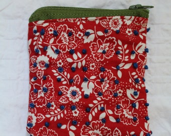 Tropical Knotty Pouch