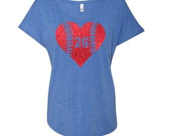 Baseball Mom Shirt. Softball Mom Shirt. Scoop Neck Shirt. Baseball Shirt. Off Shoulder. Softball Mom.Spirit Shirt. Dolman Sleeve Shirt