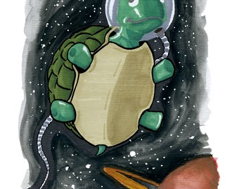 Turtle... in Space!