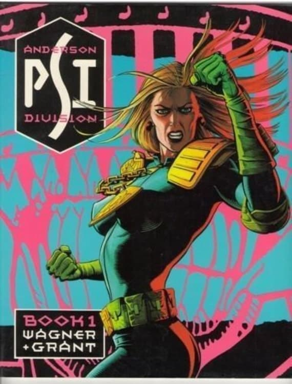Judge Anderson Book 1 1987 VF (8.0)