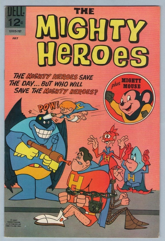 Mighty Heroes 4 Jul 1967 VF-NM (9.0)