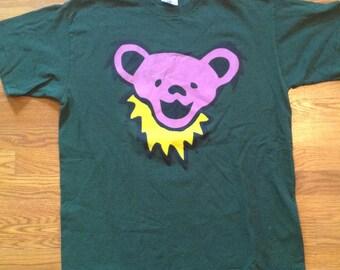 Grateful Dead Dancing Bear Face Shirt