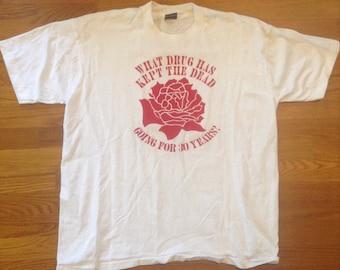 Grateful Dead Vintage 1995 Adrenalin Shirt
