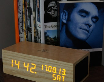 Wooden Music Clock