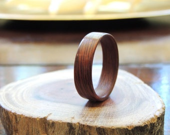 Bentwood timber ring