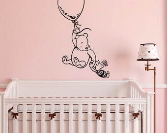 Winnie The Pooh Wall Art winnie the pooh wall art decal vinyl sticker disney movies