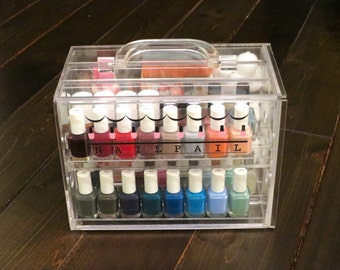 Nail Pail - BACK ON JULY 24 - nail polish organizer (polish & accessories not included)