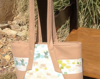 Spring purse/tote in Tan