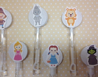Wizard of Oz Party Bubbles - Set of 10