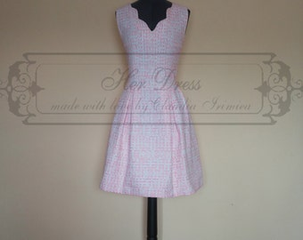 Pink, White and Orange Sweet Candy Dress