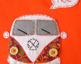 Customizable VW Campervan T-Shirt