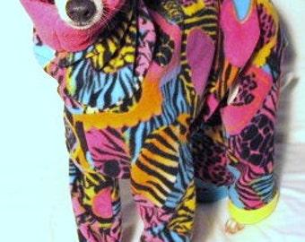 Small Dog Fleece Pajamas