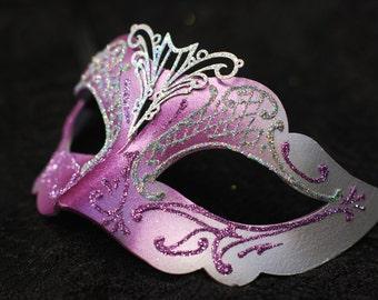 Little girl mask -  Kids Mask - Kid Costume for Carnival, Halloween, Mardi Gras, Venetian Masks, Masquerade Balls, Birthday Parties B04